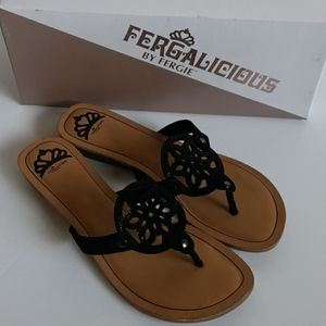 New Fergalicious Tamra Black Sandal